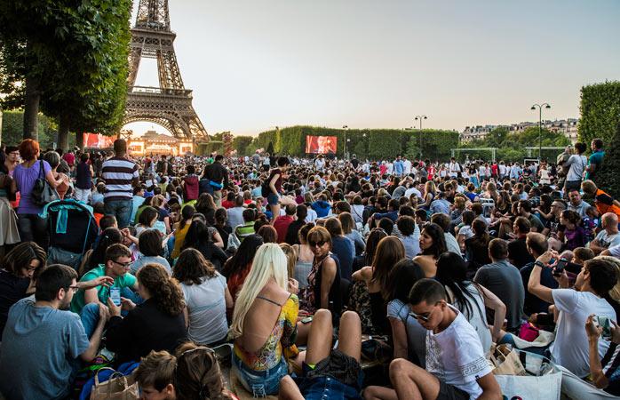 feriados nacionais - Bastilha - Françca