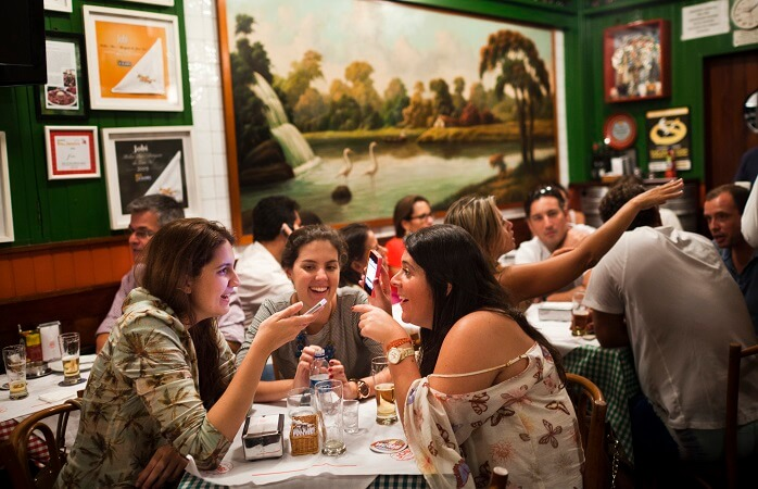 Vida noturna no Rio de Janeiro - Jobi: bar no Rio de Janeiro