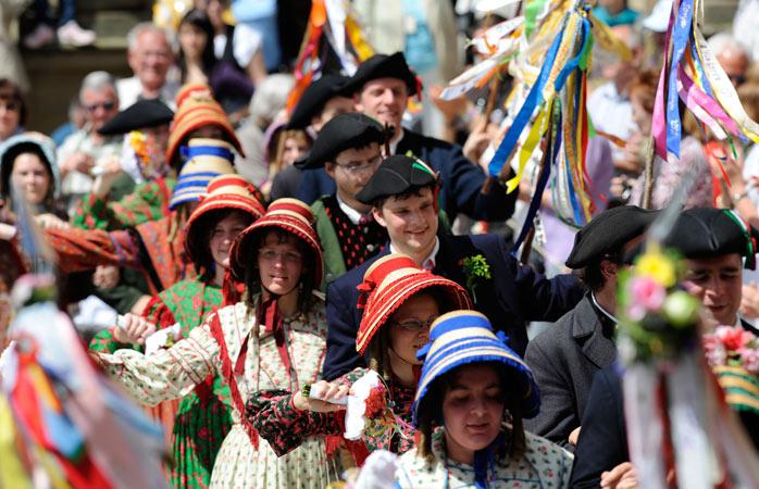 Junte-se aos festejos do festival histórico de Meistertrunk, um dos mais famosos de Rothenburg