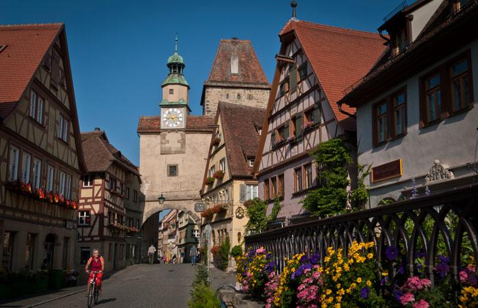 Markusturm data do século 12 e foi uma das primeiras cidades fortificadas