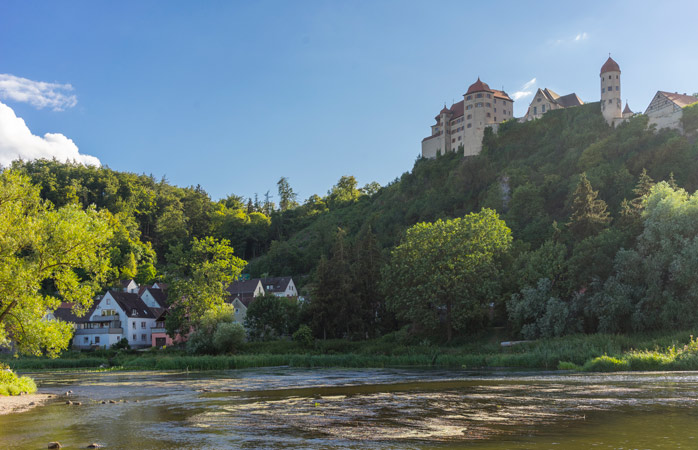 Toda a imponência de Castelo de Harburg