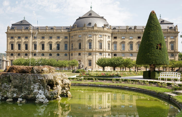 Toda a beleza da Würzburger Residenz