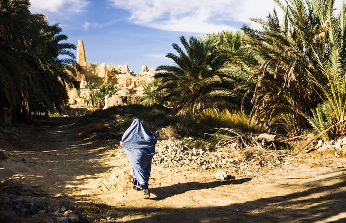 No coração do deserto egípcio, o Oasis de Siuá abriga o Templo do Oráculo