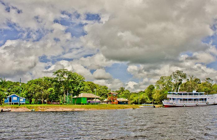 Turismo na Amazônia - Vila de São Thomé