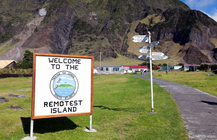 Bem-vindo à Tristan da Cunha, a ilha habitada mais remota do mundo