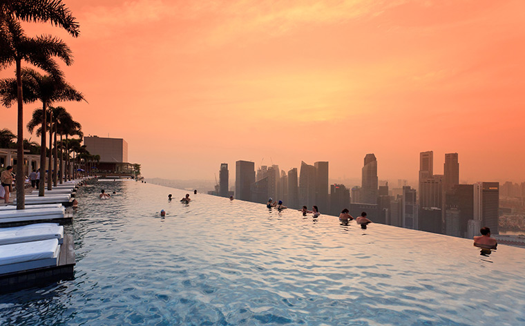 12 hotéis com piscinas incríveis pelo mundo