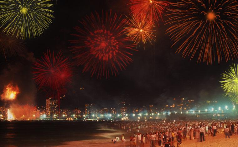 Melhores destinos no mundo para celebrar o Ano Novo