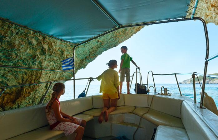As crianças terão muito para fazer nas férias em Zaquinto