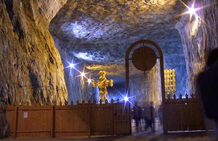 A extraordinária mina de sal Salina Praid