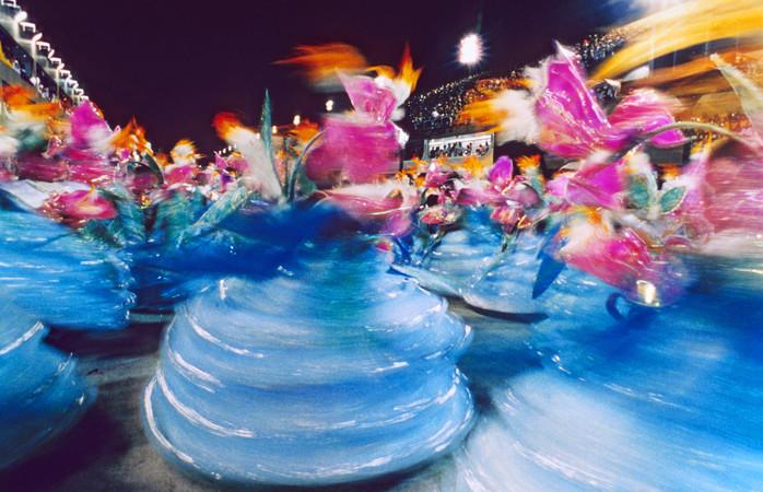 Desfile das baianas no Rio. Foto: Getty Images / luoman