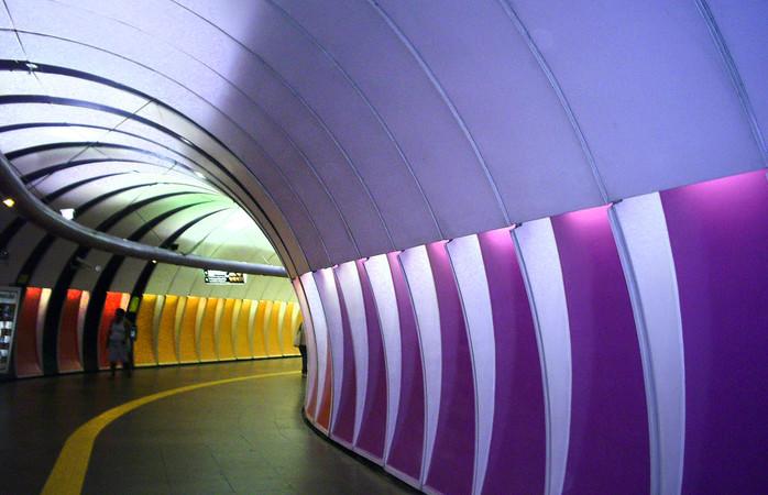 O metrô do Rio de Janeiro. Foto: Getty Images / Márcia Rosa.