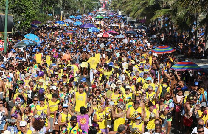 Bloco de Rua no carnaval do Rio. Foto: Shutterstock / Luiz Souza