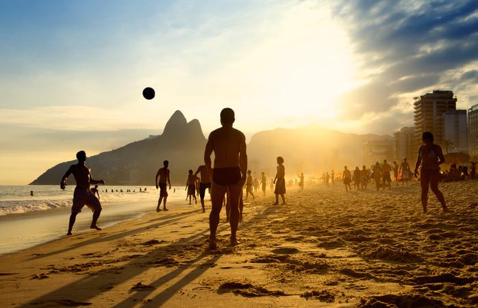 Praia de Ipanema, no Rio. Foto: Shutterstock