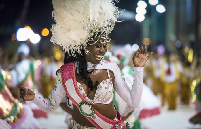 Passista do carnaval do Rio. Foto: Getty Images